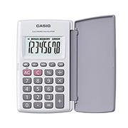 CALCULADORA CASIO HL-820LV-WE BLANCA DE BOLSILLO 8 DIGITOS DISPLAY GRANDE ESTUCHE